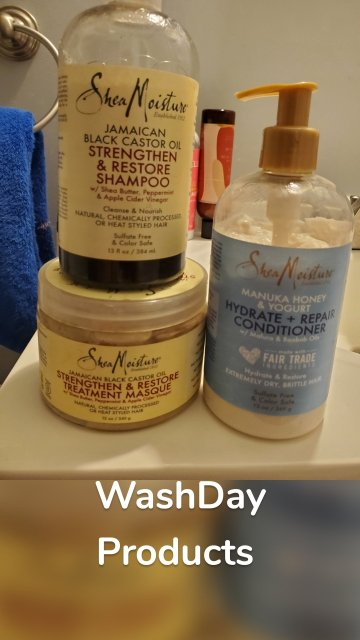 WashDay Products